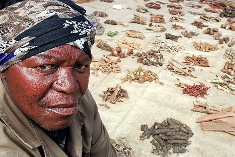 Natural resources make a vital contribution to the livelihoods of the rural poor: Picture: http://myfundi.co.za/e/South_African_traditional_Medicinal_herbs